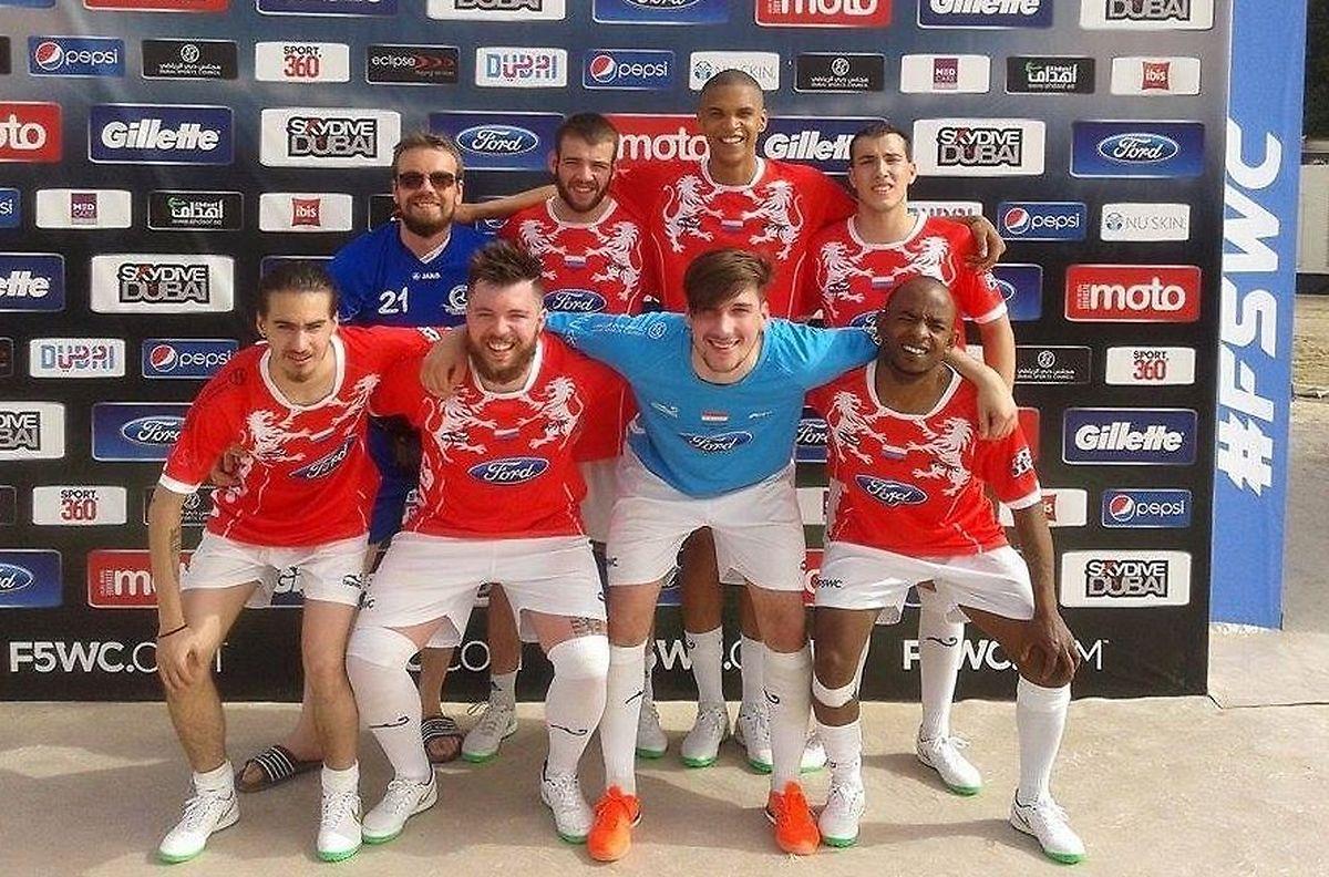 A equipa do Luxemburgo foi eliminada nos 16 avos-de-final pela Inglaterra, por 2-0