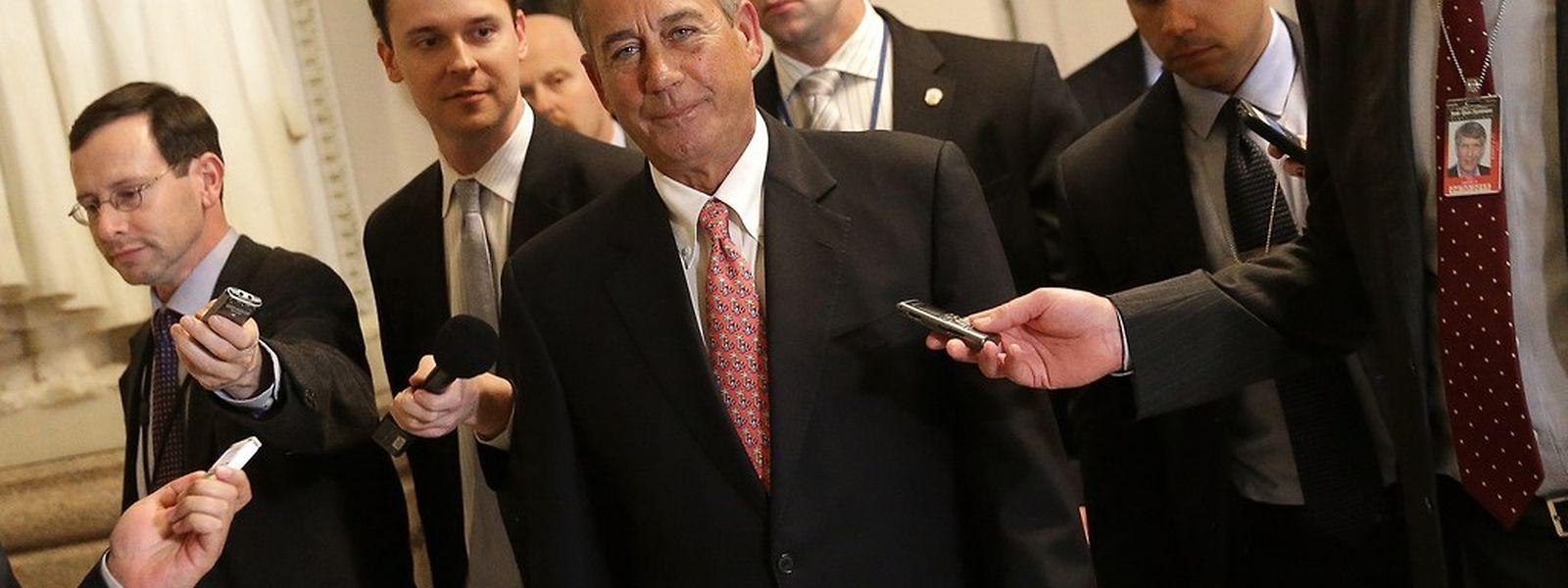 John Boehner, Sprecher des Repräsentantenhauses, kann aufatmen: Eine Finanzblockade ist abgewendet.