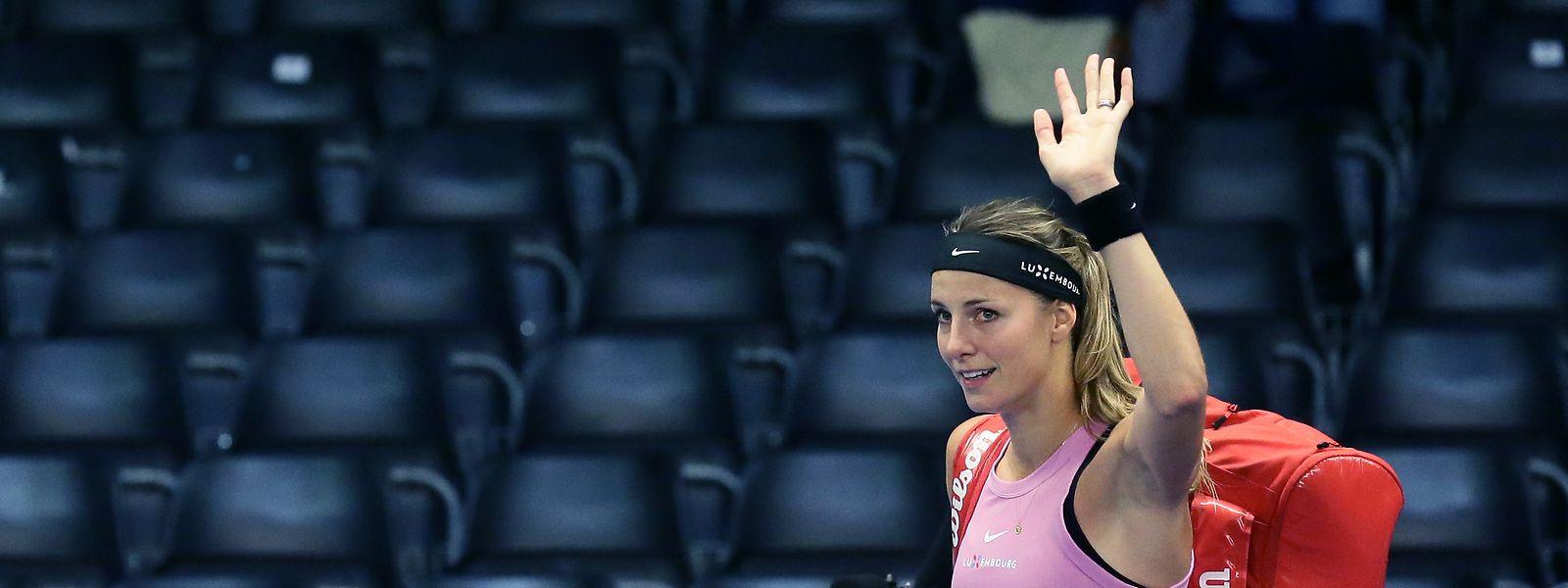 Mandy Minella a déjà quitté le tournoi de Luxembourg.