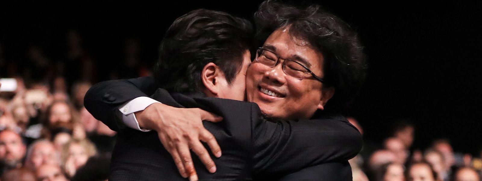 Le Sud-Coréen Bong Joon-Ho a reçu samedi soir la Palme d'Or pour son film «Parasite».