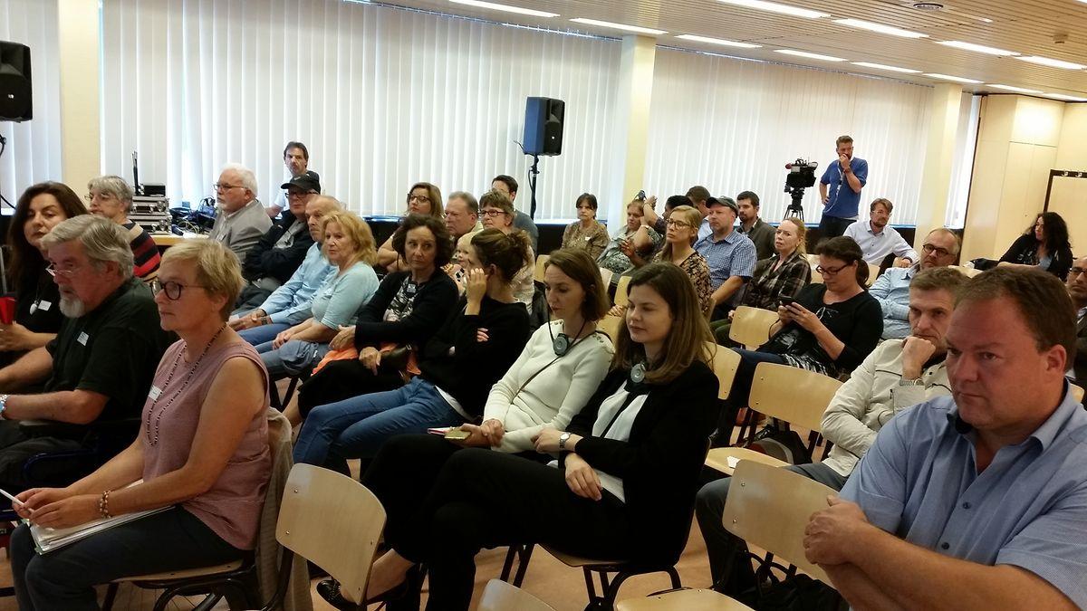 Über 50 Bürger nahmen an der Bürgerversammlung teil.