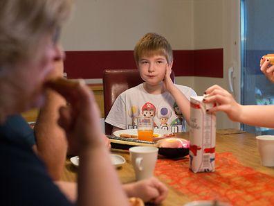 Reportage über ein autistisches Kind. Familie Braun. Yann Braun.Foto:Gerry Huberty
