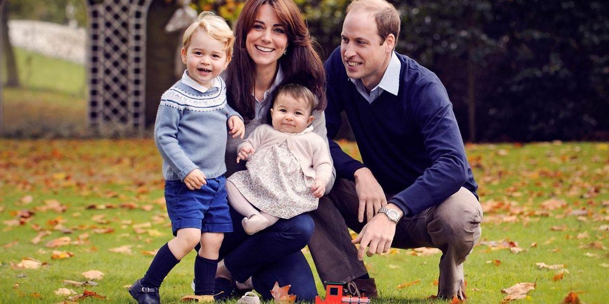Familienglück - William und Kate mit ihren beiden Wonneproppen.