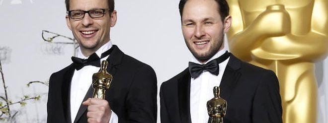 """Laurent Witz (l.), der mit seinem Koregisseur Alexandre Espigares (r.) für """"Mr. Hublot"""" einen Oscar gewann, will nun an einem abendfüllenden Animationsfilm arbeiten. Dafür unterstützt ihn der Filmfund."""