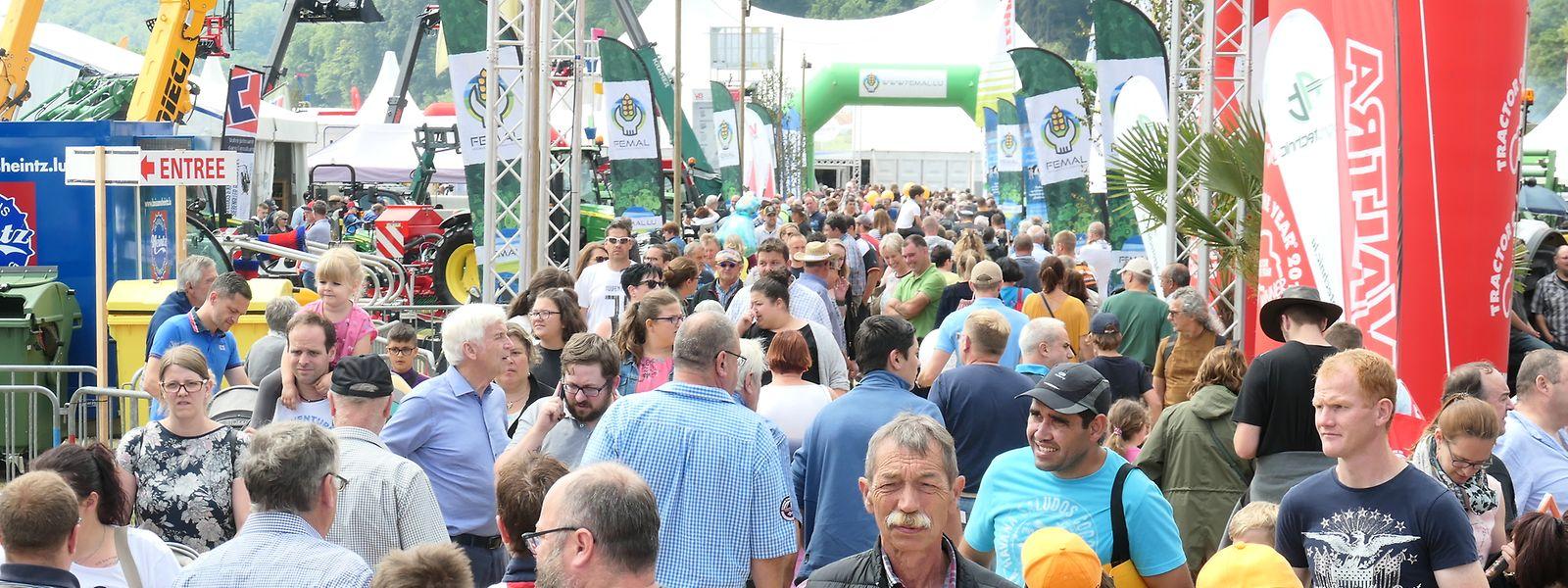 Allein im letzten Jahr lockte die Foire Agricole 39.000 Menschen nach Ettelbruck.