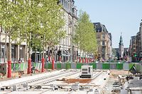 L'avenue de la Liberté.