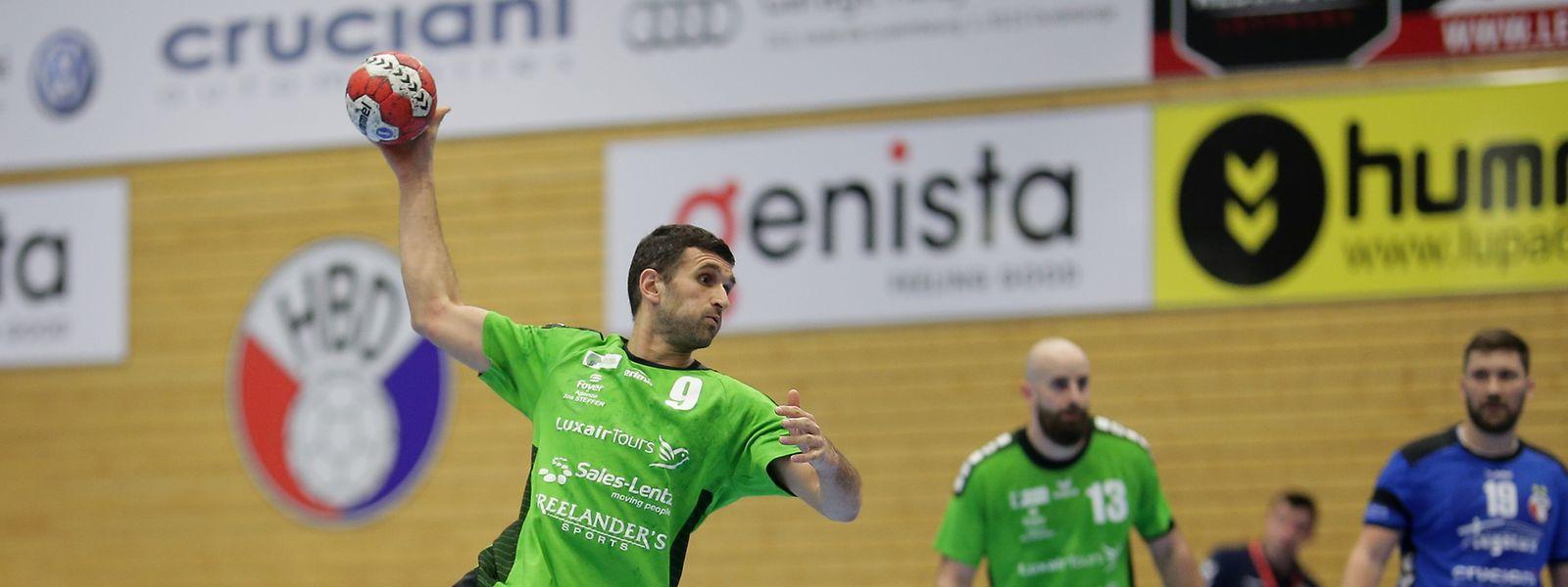 Zoran Radjoevic und HB Käerjeng starten mit einem Duell gegen HB Düdelingen in die Play-offs.