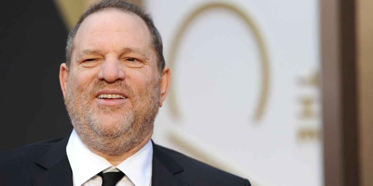 Harvey Weinstein en 2014 à son arrivée aux 86e Academy Awards à Hollywood, Californie.