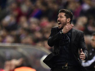 Atletico Trainer Diego Simeone hat mal wieder Ärger.