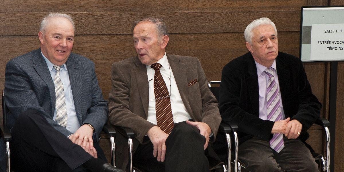 Ex-Geheimdienstler im Zeugenstand: Paul Mehlen, Jos Meier und Carlo Kremer