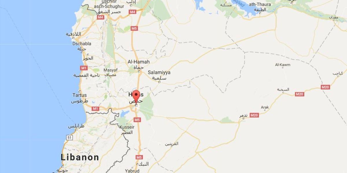 In der syrischen Stadt Homs kam es zu den Attentaten.