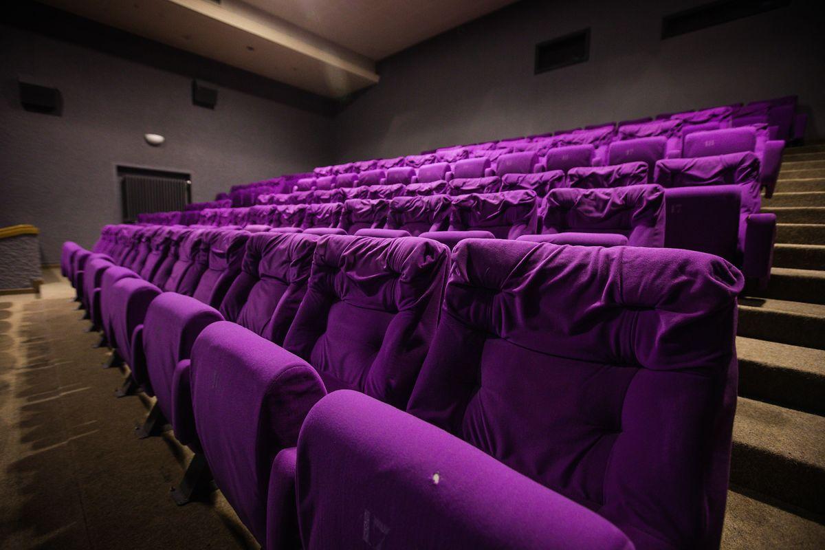 Der Kinosaal bietet Platz für etwa 300 Zuschauer.