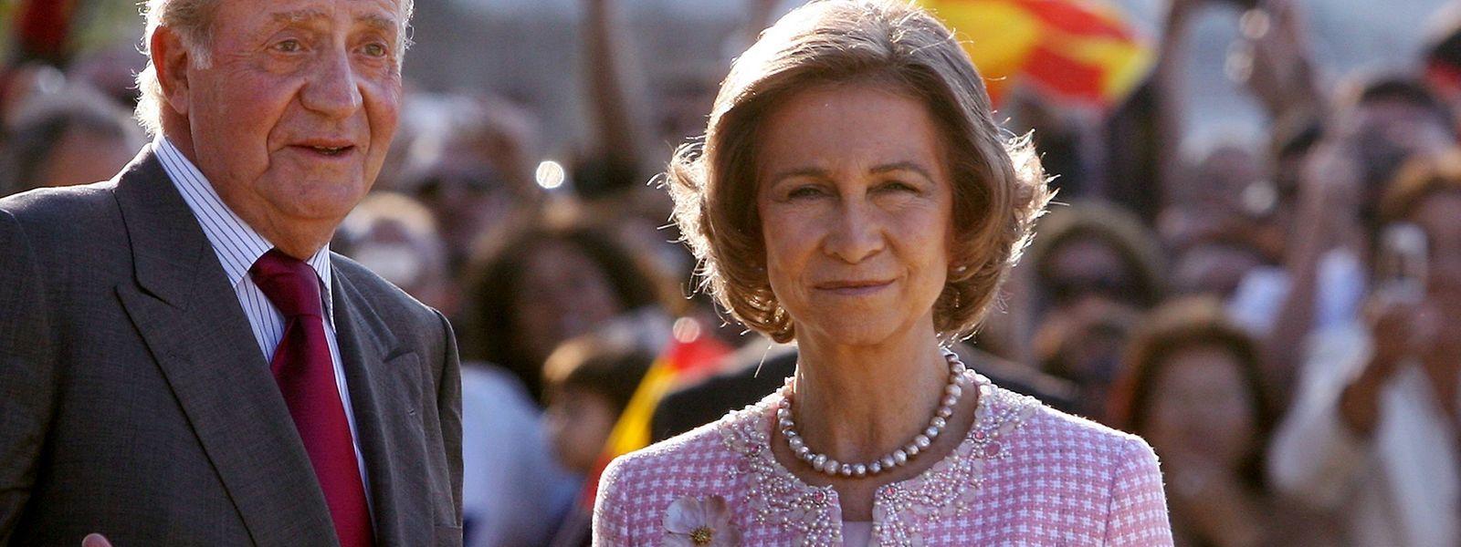 Gattin Sofia wird den Monarchen nicht ins Exil begleiten.