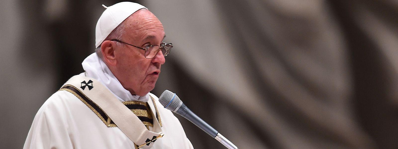 Weihnachtspredigt: Papst Franziskus geißelt Konsumgesellschaft