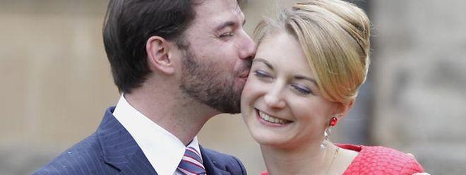 Guillaume und Stéphanie werden am Hochzeitswochenende Jugendvertreter treffen und sich der Bevölkerung zeigen.