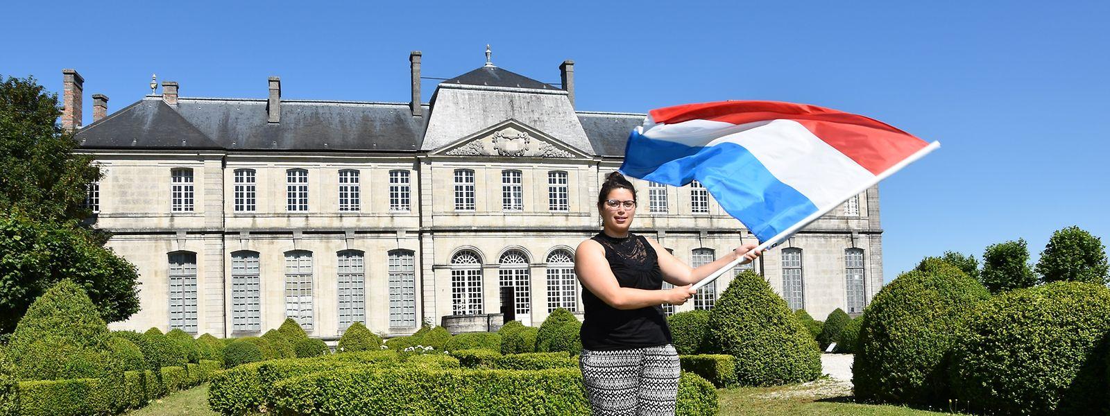Alice Duclos, 23 ans, fait son Service civique franco-luxembourgeois au Centre mondial de la Paix: «Je me sens valorisée dans mon travail. Ici on me fait confiance en me donnant des projets que je n'aurais pas eu ailleurs.Chaque jour, je découvre des choses que je ne savais pas pouvoir faire».