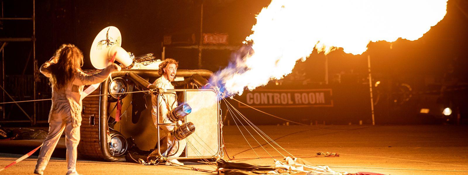 Parmi les animations prévues samedi soir, le décollage nocturne d'une montgolfière.