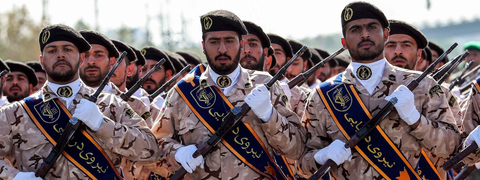 Die Militärparade fand in der Stadt Ahwas im Südwesten des Irans statt.