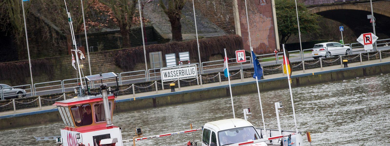 Die Fähre zwischen Wasserbillig und Oberbillig (D) an der Mosel wirft laut dem Bürgermeister der deutschen Gemeinde, Andreas Beiling, Gewinn ab und soll auch weiter im Betrieb bleiben.