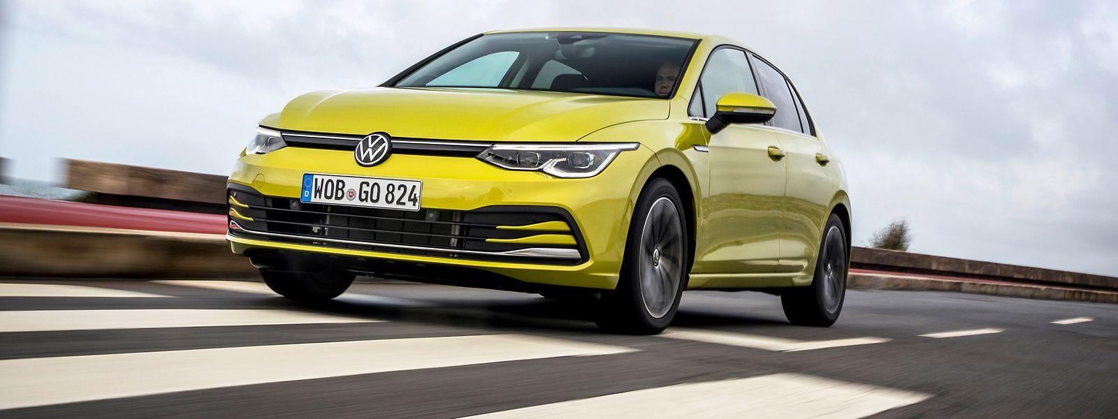 Dem Original verpflichtet: Volkswagen verzichtet auch bei der achten Golf-Generation auf Designexperimente.