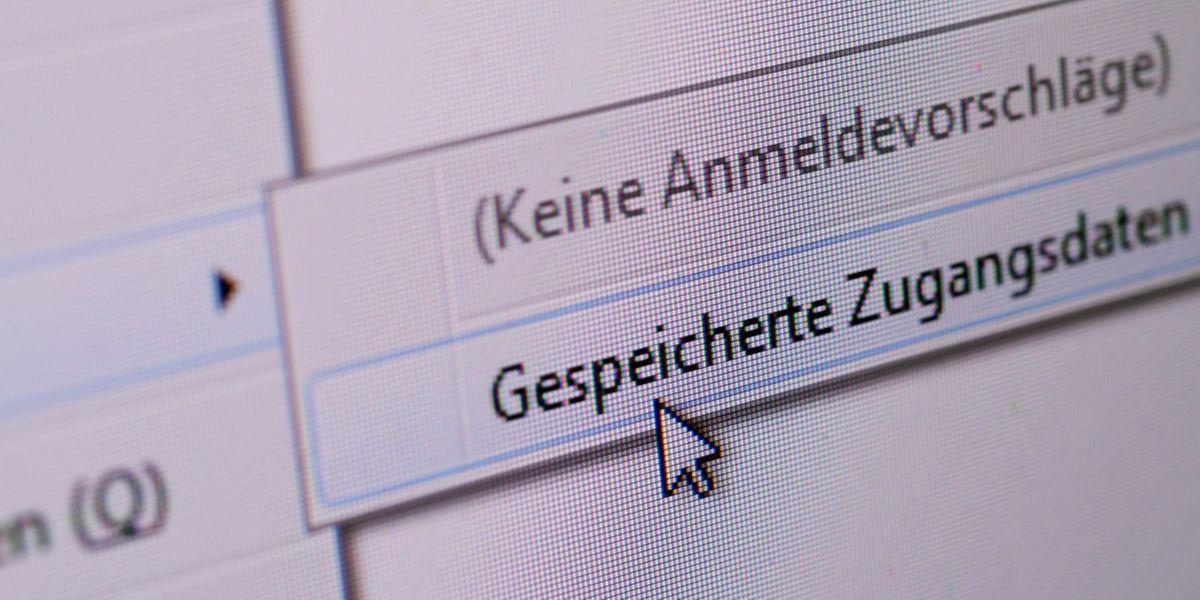 Hoher Komfort: Mit nur einem Klick können sich Nutzer von Passwortmanagern auf vielen Accounts anmelden.