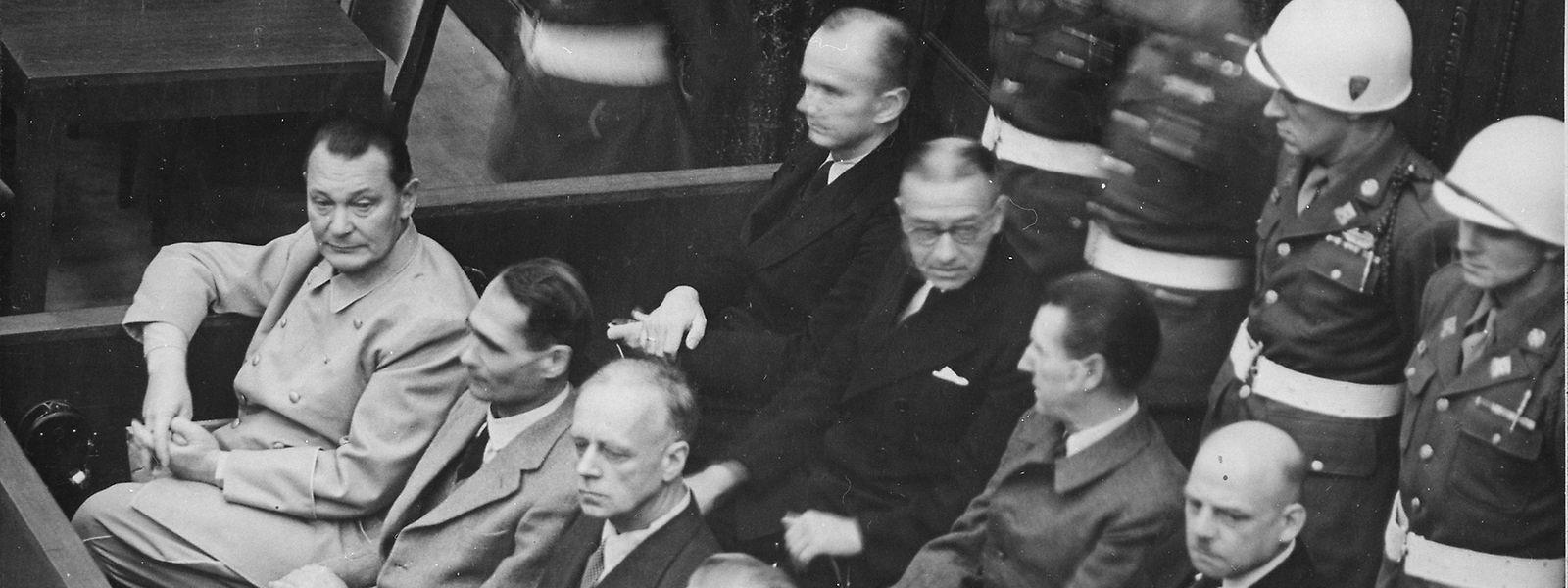 Die Mächtigen des NS-Staates wurden für ihre Verbrechen zur Verantwortung gezogen.