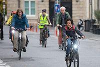"""Lokales, PK: Mobilité active dans la """"rue du Fossé"""", Fahrrad, Fahrräder, vélo, Foto: Chris Karaba/Luxemburger Wort"""