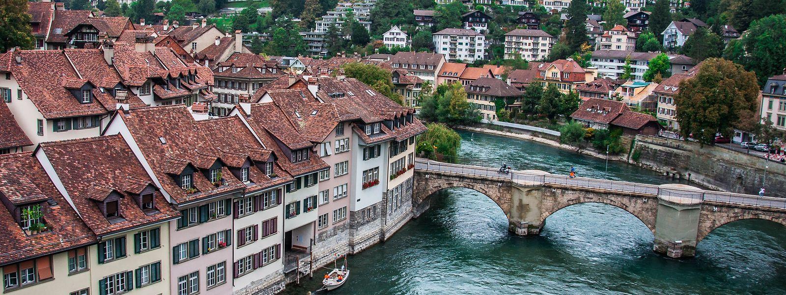 Berna, capital suíça.