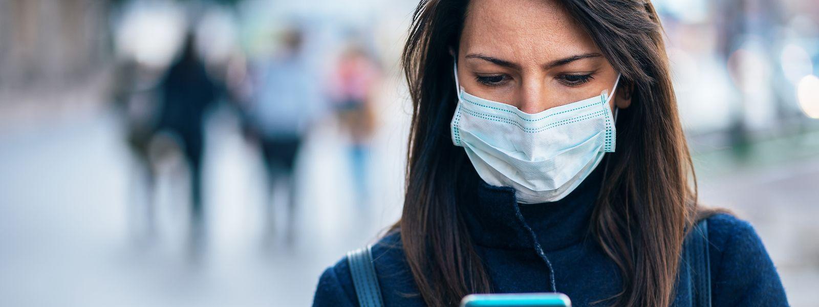 Handy-Apps sollen die Verbreitung des Virus bremsen.