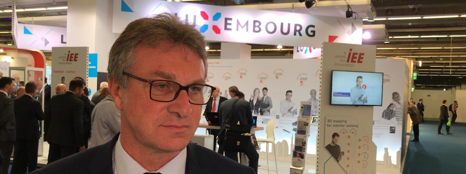Michel Witte ist CEO und Präsident des luxemburgischen Automobilzulieferers und Sensorspezialisten IEE.