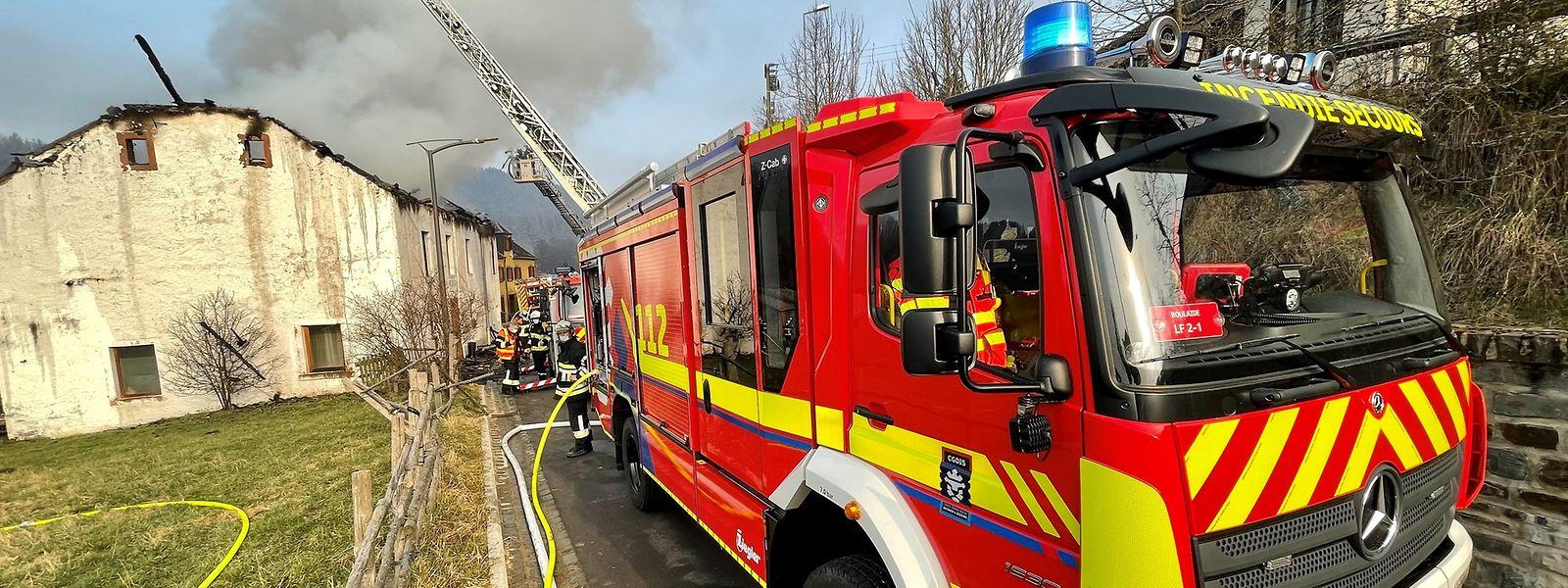 Wettlauf mit der Zeit: Spätestens nach 15 Minuten sollen die Einsatzkräfte vor Ort sein; bei Bränden klappt dies heute in zwei Drittel der Fälle.