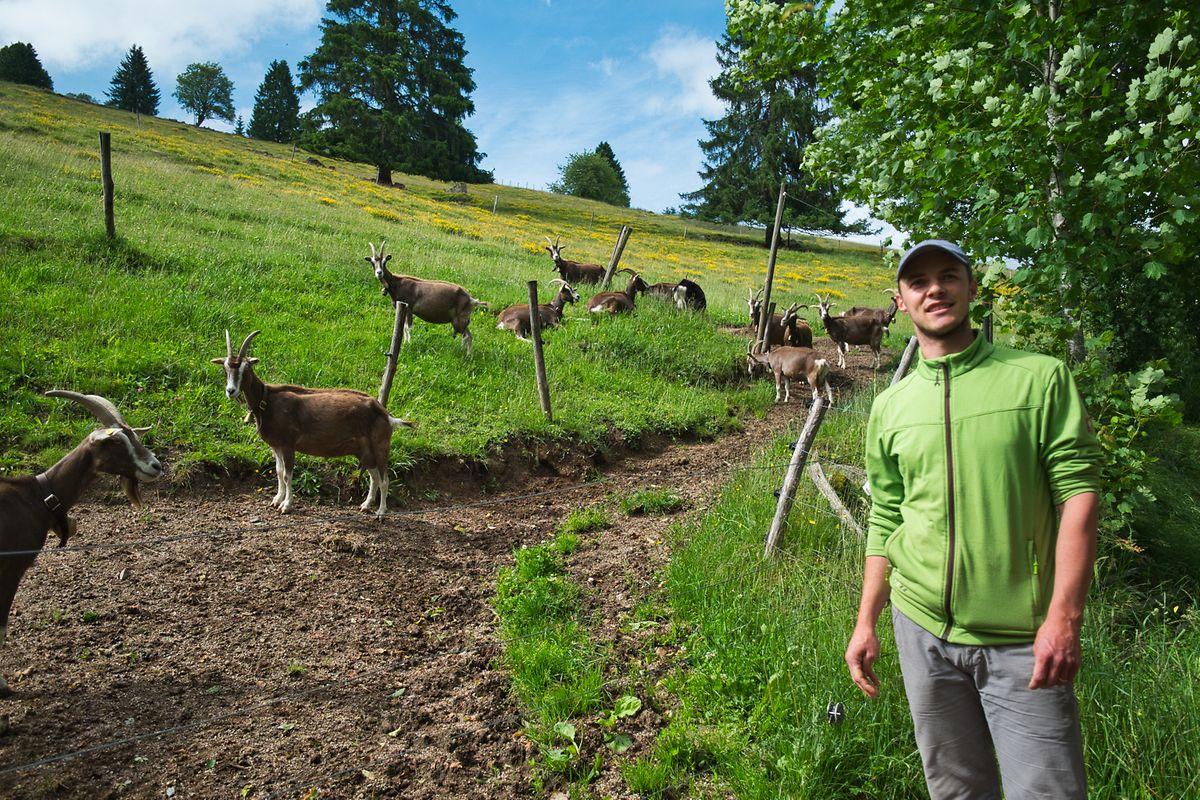 Johannes Till hat sich nach seiner Ausbildung für eine Rückkehr in den Schwarzwald entschieden.