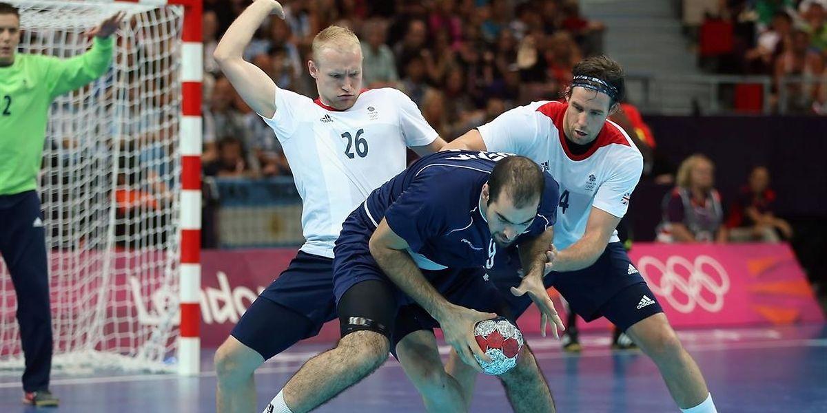 Sebastien Edgar (l.) vertrat Großbritannien 2012 bei den Olympischen Spielen.