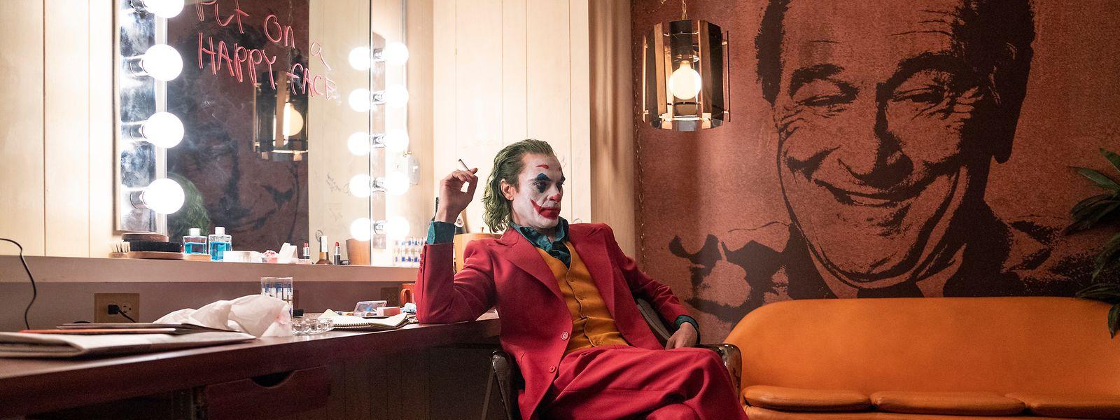 "Joaquin Phoenix als Arthur Fleck (Joker) in einer Szene des Films ""Joker""."