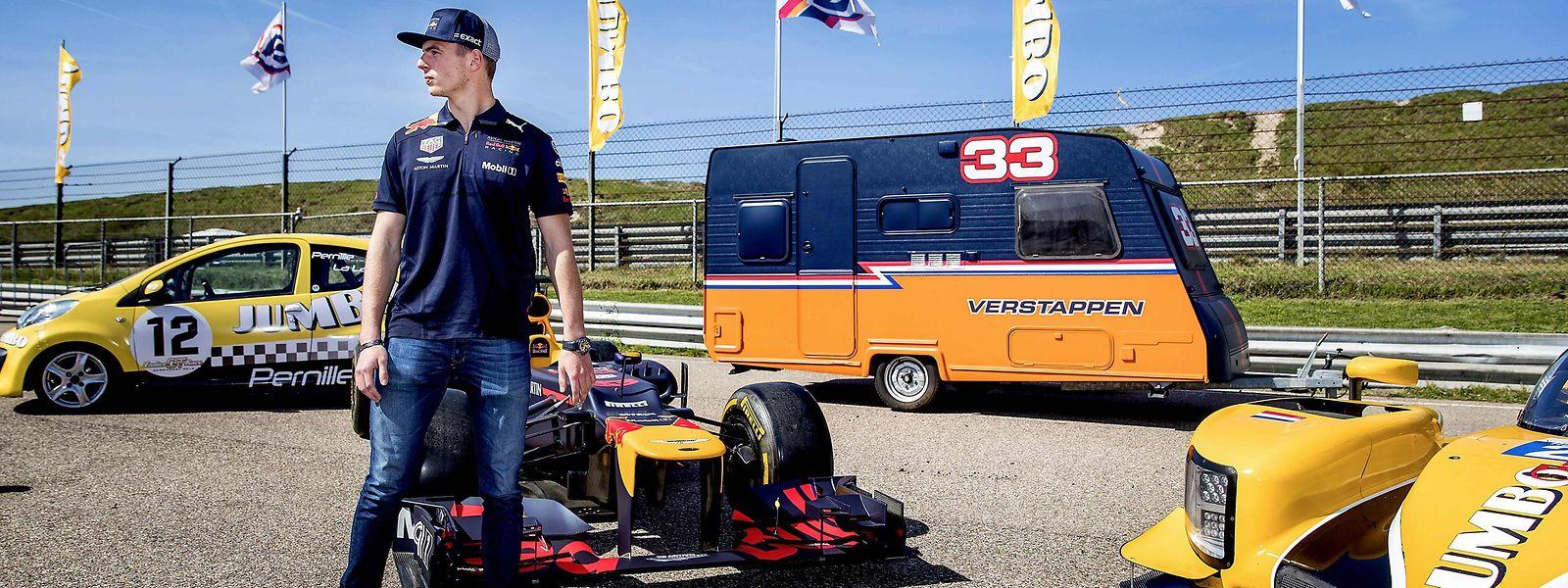Max Verstappen möchte sich in Baku von seiner besseren Seite zeigen.