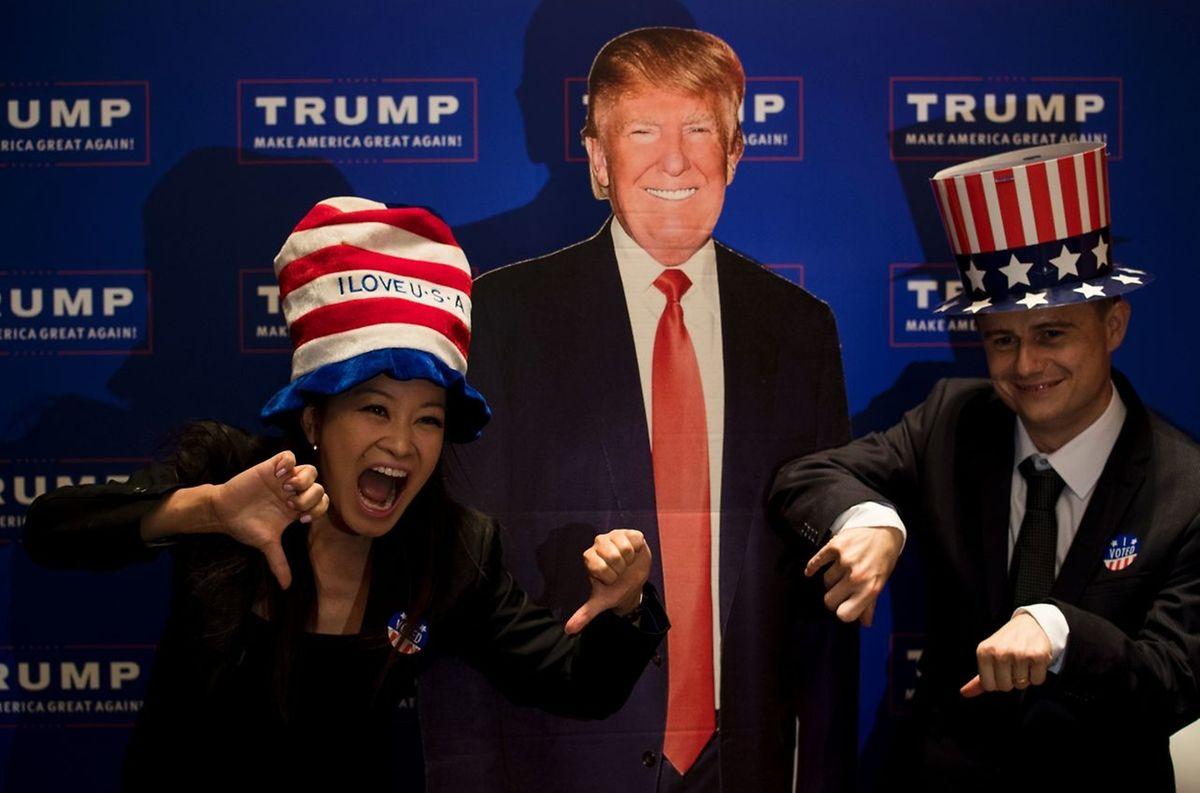 Si les supporters de Trump jubilent, de nombreux autres évoquent un départ vers le Canada