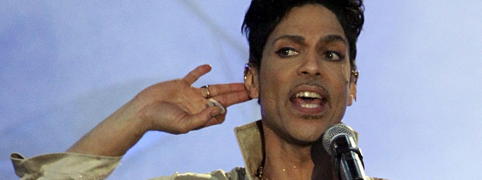 Prince bei einem Konzert im Jahr 2011.