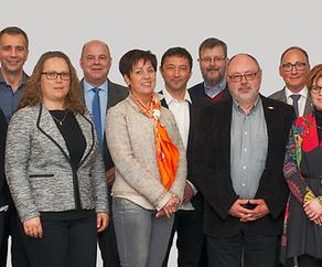 CSV Kandidaten fir Gemengewahlen vom 8. Oktober 2017