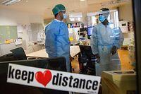 Coronavirus - Hôpital Kirchberg - COVID-19 Stock  - Foto: Pierre Matgé/Luxemburger Wort