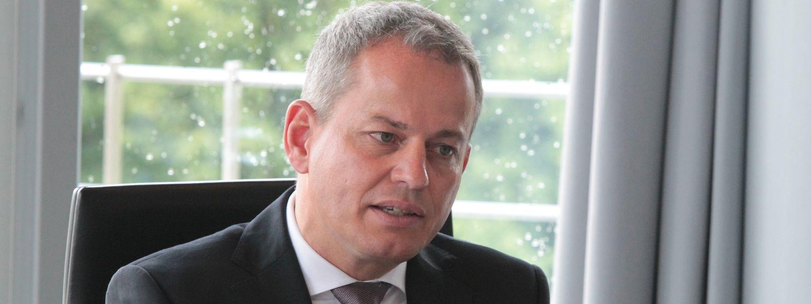 Frank Krings leitetet die Deutsche Bank Luxembourg seit 2016.