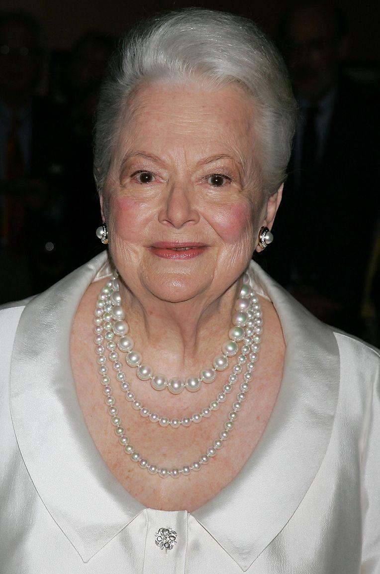 Olivia de Havilland im Jahr 2006.