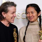 Óscar de Melhor Atriz para Frances McDormand por Nomadland - Sobreviver na América