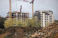 TC,Wohnungsbau,Logement.hier:Kirchberg.Foto: Gerry Huberty/Luxemburger Wort