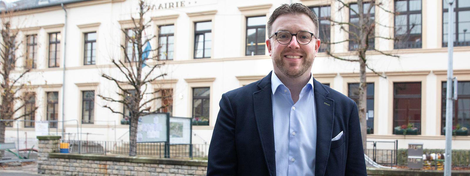 Auf die Ideen der Bürger für das Dorfzentrum von Wormeldingen ist Bürgermeister Ast gespannt.