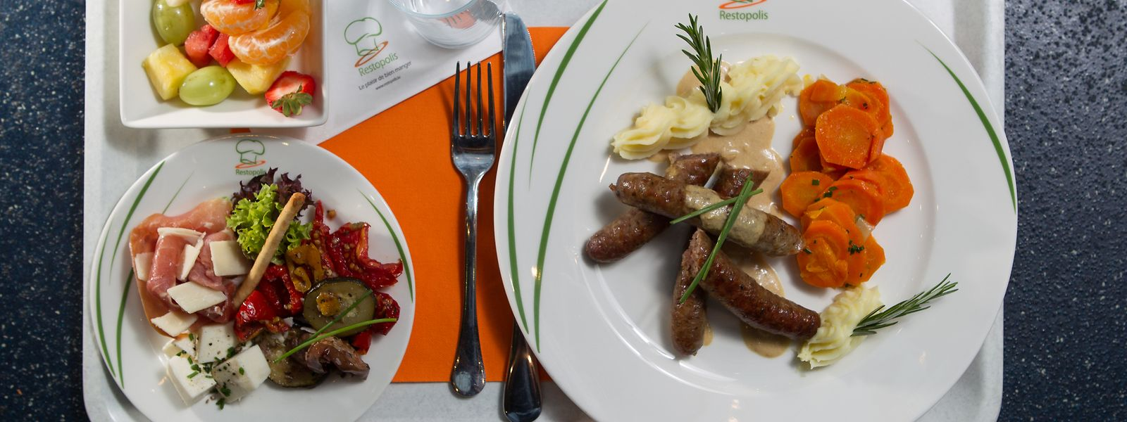 Depuis la rentrée 2020-21, chaque jour un plat bio est servi dans les établissements Restopolis.