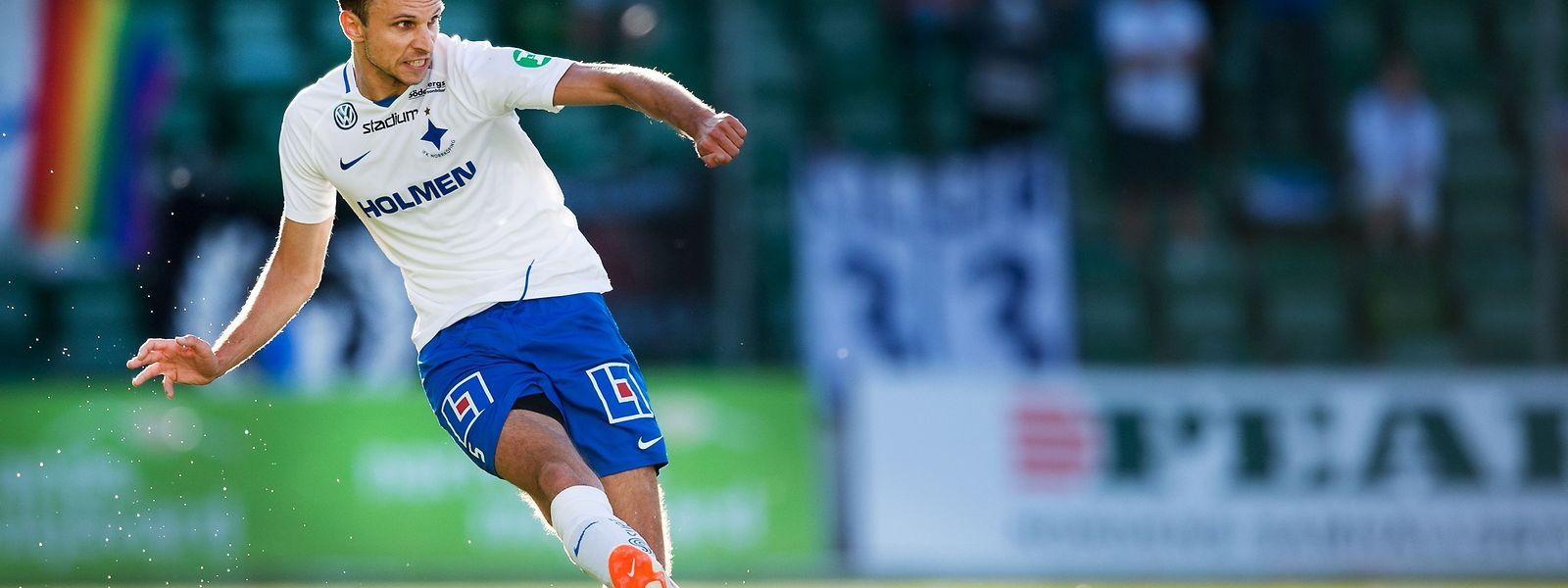 Lars Gerson a disputé le choc de la 2e journée du championnat de Suède avec l'IFK Norrköping face à l'AIK Stockholm