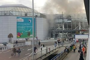 Two explosions at Brussels Airport