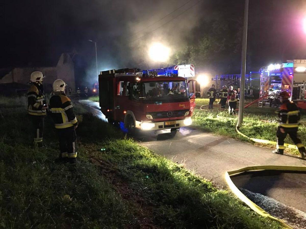 Anderthalb Stunden waren die Rettungsdienste im Einsatz.