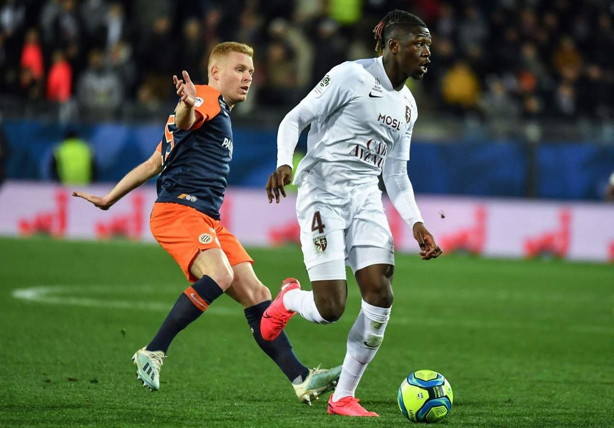 Kevin N'Doram et les Messins ont fait preuve de solidité à Montpellier.