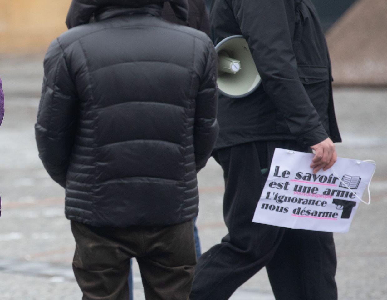 Lokales, Demo anti Vaccins, Anti masque, foto:Chris Karaba/Luxemburger Wort